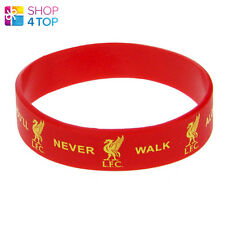 LIVERPOOL OFFICIAL FOOTBALL SOCCER CLUB TEAM SILICONE RUBBER WRISTBAND LICENSED