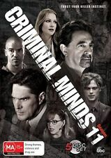 Criminal Minds: Season 11 NEW R4 DVD