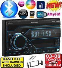 FITS 2003-08 TOYOTA COROLLA AM/FM BLUETOOTH AUX USB/SD EQ CAR RADIO STEREO PKG