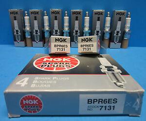 6 Spark Plugs NGK 7131 OEM # BPR6ES