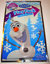 DISNEY FROZEN OLAF PLAY PACK stickers, coloring book & crayons - EASTER BASKET