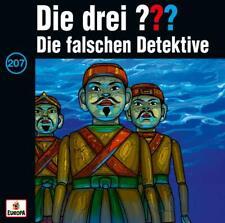 Die drei ??? 207 Die falschen Detektive - CD - wie NEU !!