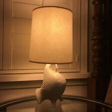 Jonathan Adler Bull White Table Lamps Nickel