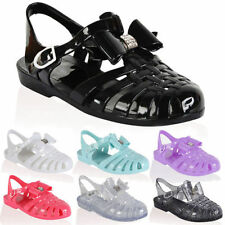 Party Sandals for Girls Buckle Rubber Shoes