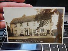 More details for white notley, essex... cm8 1rh    ww1 era    postcard  fambridge hall