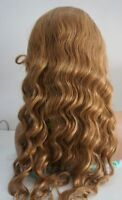100% Remy Indian Human Hair Lace Front Wig Bodywave Full WIG STOCK #27 Blonde
