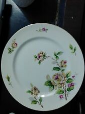 Vintage Lynmore Fine China Japan Golden Rose 10.5  Dinner Plate