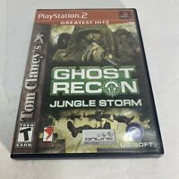 Ghost Recon: Jungle Storm PLAYSTATION 2 (PS2)  (Video Game) Complete Free Ship
