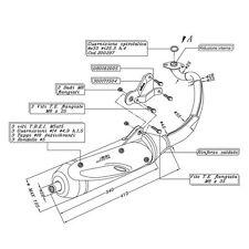 Auspuff SITO PLUS 0734 für Yamaha Neo´s 50 / Ovetto MBK 50