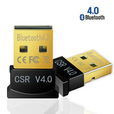 Mini USB Bluetooth CSR 4.0 Dual Mode Dongle Wireless Adapter Win 8 7 10 XP Vista