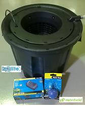 NUTRIFIELD PRO POT B1 28L DWC SYSTEM HYDROPONIC BUBBLE BUCKET DEEP WATER CULTURE