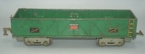 "AMERICAN FLYER PREWAR STANDARD GAUGE 4017 ""THE COMMANDER"" SAND CAR GONDOLA-AS-IS"