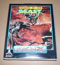 Atari Lynx game handheld console cartridge Shadow of the Beast NEW BOXED sealed