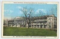 League Island Naval Main Sesquicentennial Exposition PHILADELPHIA PA Postcard