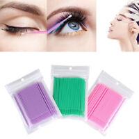 Mini applicateurs micro brosse jetables Extensions de cils Maquillage colle FR