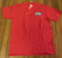 Supreme Chrome Tee T-Shirt Size Medium Red FW20 Supreme New York 2020 Brand New