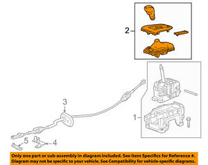 Buick GM OEM 12-16 Verano Transmission Gear-Shift Knob Shifter Handle 22805887