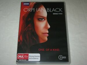 Orphan Black - Series 2 - 3 Disc - BBC - Region 4 - VGC - DVD
