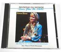 Sima Bina Music From The World North Khorassan Buda Records 92636-2 France D583