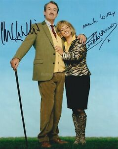 John Challis & Sue Holderness HAND Signed 8x10 Photo Only Fools & Horses (E)