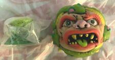 Madballs Kid-Robot Snake Bait Mystery Mini Figure With Base Skull Face Baseball