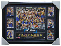 West Coast Eagles 2018 Premiers Deluxe Tribute Official AFL Print Frame Shuey