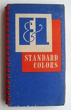 Offset Inks Standard Colors Sprial Bound Book