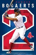XANDER BOGAERTS - BOSTON RED SOX POSTER - 22x34 MLB BASEBALL 15522