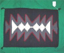 NATIVE AMERICA INDIAN NAVAJO RUG ZONNIE CHARLEY OOAK FOLK ART SOUTH WEST DECOR