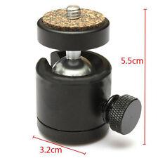 """360 Swivel Mini Ball Head 1/4"""" Screw Mount for DSLR Camera Tripod Ballhead Stand"""