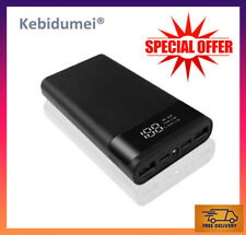 Power Bank 20000mAh LED Display Flashlight Fast Charging USB Phone Charger 2021