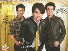 The Jonas Brothers, Avan Jogia, Double Sided Full Page Pinup
