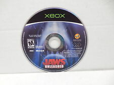 Jaws Unleashed XBOX Video Game Disc  NO CASE OR MANUAL Great White Shark