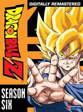 DRAGON BALL Z - COMPLETE SEASON 6 -   DVD - UK Compatible - New & sealed