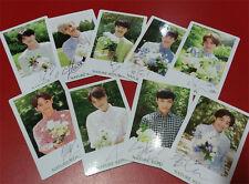 EXO 9PCS PHOTO [ NATURE REPUBLIC OFFICIAL PHOTO CARD SET ] 2015 NEW