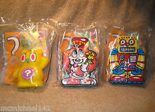 2008 Burger King BK Mystery Kids Meal SECRET TOYS Robottz - FREE SHIPPING!