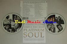 CD SIMPLY THE BEST PLATINUM SOUL 2003 aretha franklin ben e king (C24) no lp mc