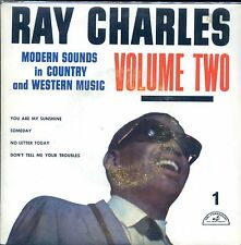 7inch RAY CHARLES modern sounds in country & western VOLUME TWO HOLLAND EP EX