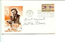 Harry Coover Super Glue Inventor Signed Autograph Fdc