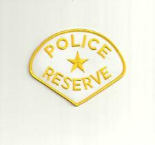 TEXAS POLICE RESERVE PATCH
