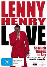 Lenny Henry Live: So Much Things To Say ..REG 4...NEW & SEALED