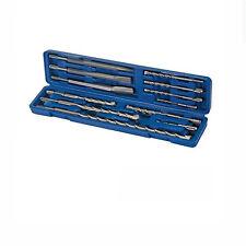 SDS Bohrer Meißel Set 12-tlg. für MEISTER Bohrhammer PH 850 MPF 1050 1500