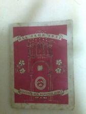 PRE HOLOCAUST BIBLE & JUDAICA POSTCARD CALENDAR 1937 ISRAEL GERMANY RARE