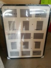 Ikea Ribba. 001.284.09 60 X 80cm picture frame. Black. Holds 15 photos.