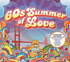 60's SUMMER OF LOVE 3 CD SET VARIOUS ARTISTS - NEW RELEASE JUNE 2017