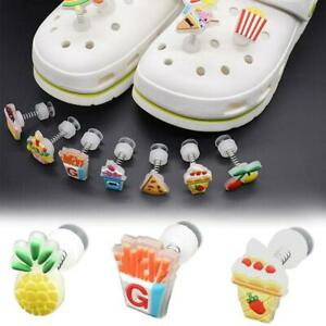 Fruit Cake Colorful Shoe Buckle For Crocs Boys Girls Shoe Accessories