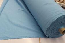 Sky Blue Combed Cotton Jersey Fabric 180cm Wide P/m #q918sb