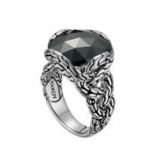 John Hardy 'classic Chain' Braided Ring Sterling Silver 7