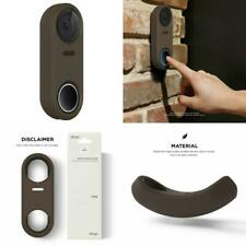 Nest Hello Case Cover Ring Doorbell Brown Protection UV Light Resistant Weather