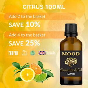 100ml Citrus Blend Essential Oil Mood Exclusive Blend Essential Oils Blends